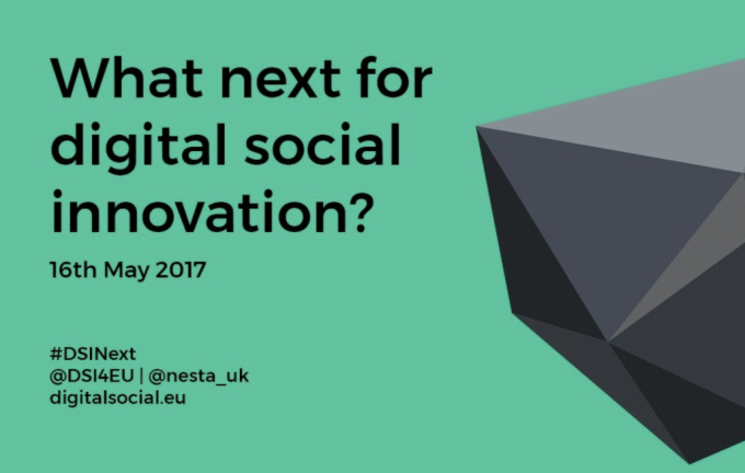 What next for Digital SocialInnovation?